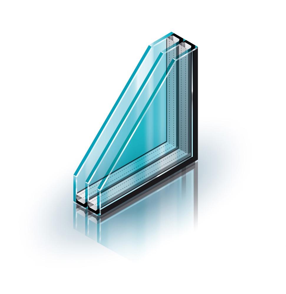 двухкамерный стеклопакет для пластиковых окон