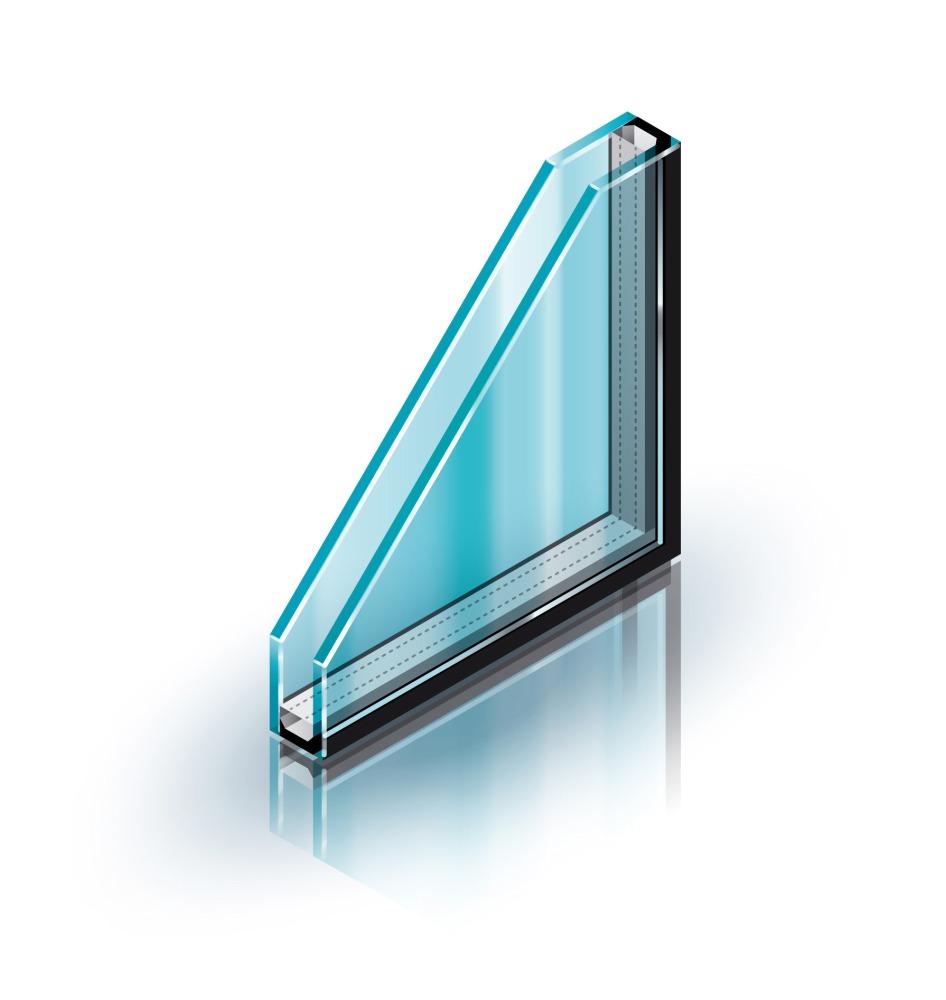 однокамерный стеклопакет для пластиковых окон